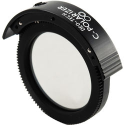 DEO-Tech CPL Filter Holder with Built-In Filter