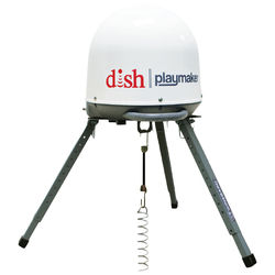 Winegard Playmaker PA1000 Satellite Antenna and DISH Wally Receiver Bundle