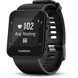 Garmin Forerunner 35 GPS Running Watch with Wrist-Based Heart Rate (Black)