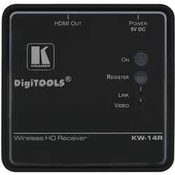 Kramer Wireless HD Receiver for KW-14 Extender System