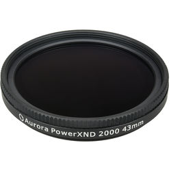 Aurora-Aperture 43mm PowerXND 2000 Variable Neutral Density 1.2 to 3.3 Filter (4 to 11 Stops)
