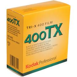 Kodak Professional Tri-X 400 Black and White Negative Film (35mm Roll Film, 100' Roll, Short-Dated 07/17)