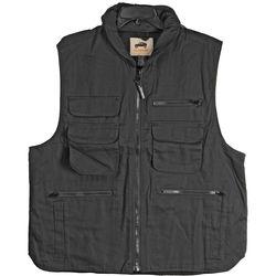 Humvee by CampCo 100% Cotton 9-Pocket Ranger Vest (XXX-Large, Black)