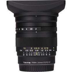 Tokina FiRIN 20mm f/2 FE MF Lens for Sony E