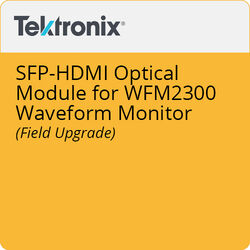 Tektronix SFP-HDMI Optical Module for WFM2300 Waveform Monitor (Field Upgrade)