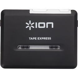 ION Audio Tape Express Plus Tape-to-Digital Converter & Player with Headphones