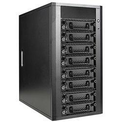 iStarUSA 8-Bay SATA 6.0 Gb/s eSATA Hotswap JBOD Enclosure with 300W Power Supply