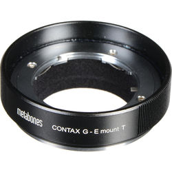 Metabones Contax G Lens to Sony E-Mount Camera T Adapter (Black)