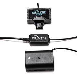 "IndiPRO Tools Mini-Tap to Panasonic DDMW-BLF19 Type Dummy Battery (24"")"