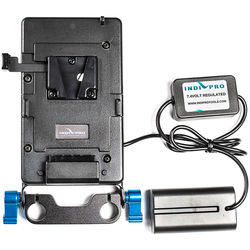 IndiPRO Tools V-Mount Plate to Sony L Type Dummy Battery-Regulated 24""