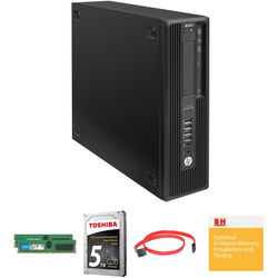 HP Z240 Series Small Form Factor Turnkey Workstation with 32GB RAM and 4TB HDD