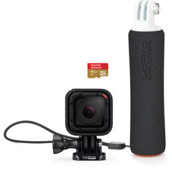 GoPro HERO Session Bundle with Floating Hand Grip & microSDHC Card