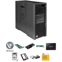 B&H Photo PC Pro Workstation Z840 Rackable Turnkey Workstation with Wirecast Pro 7 and Matrox VS4