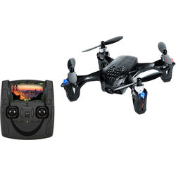 HUBSAN H107D X4 Quadcopter with FPV Camera (Black)