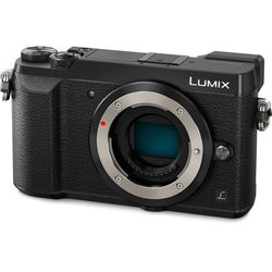 Panasonic Lumix DMC-GX85 Mirrorless Micro Four Thirds Digital Camera (Body Only, Black)
