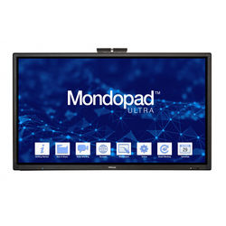 """InFocus Mondopad Ultra 85"""" 4K All-In-One Touchscreen Collaboration System"""