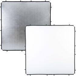 Lastolite Skylite Rapid Fabric Reflector (Silver/White, 6.6 x 6.6')