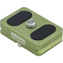 MeFOTO BackPacker Air Quick Release Plate (Green)