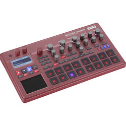 Korg Electribe Sampler Music Production Station with V2.0 Software (Red)