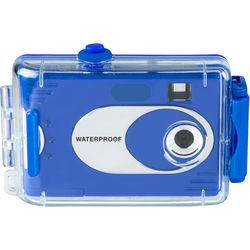 Vivitar AquaShot Underwater Digital Camera (Solid Turquoise/Blue)