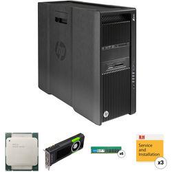HP Z840 Series Turnkey Workstation with 2x Xeon E5-2650 v4, 64GB RAM, and Quadro M5000