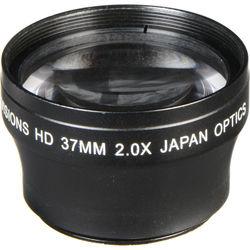 Bower 37mm Pro 2x HD Telephoto Conversion Lens