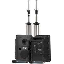 Anchor Audio Go Getter Deluxe Dual AIR PA Package with Two Wireless Handheld Microphones