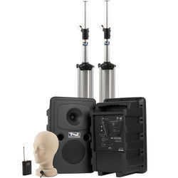 Anchor Audio Go Getter Deluxe AIR PA Package with Wireless Beltpack Transmitter & LM-60 Lapel Microphone