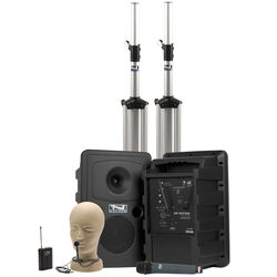 Anchor Audio Go Getter Deluxe AIR PA Package with Wireless Beltpack & Handheld Transmitters (CM-60 Collar Microphone)