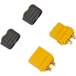 Venom Group Amass XT60 Male and Female Battery Connector Plug for ESC and Charge Lead Batteries (1-Pair)