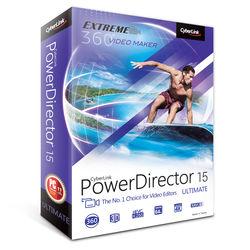 CyberLink PowerDirector 15 Ultimate (DVD)