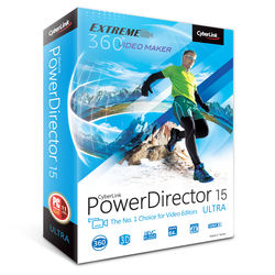 CyberLink PowerDirector 15 Ultra (DVD)
