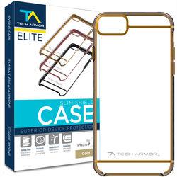 Tech Armor ELITE SlimShield Case for iPhone 7 (Gold/Clear)