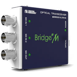 DIGITAL FORECAST Bridge M_OTR Mini SDI Optical Transmitter and Receiver Kit