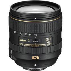 Nikon AF-S DX NIKKOR 16-80mm f/2.8-4E ED VR Lens (Refurbished)