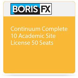 Boris FX Continuum Complete 10 Academic Site License 50 Seats -