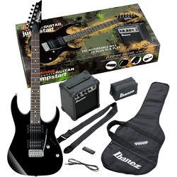 Ibanez IJRG220Z Jumpstart Package with Guitar, Amplifier, Strap, Gig Bag & More (Black)