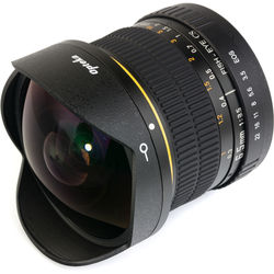 Opteka 6.5mm f/3.5 Circular Fisheye Lens for Canon EF