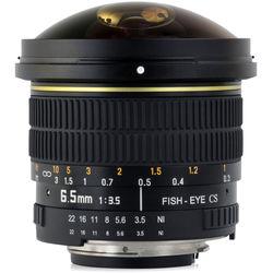 Opteka 6.5mm f/3.5 Circular Fisheye Lens for Nikon F
