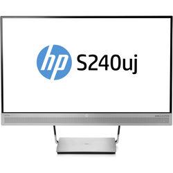 "HP S240uj 23.8"" 16:9 EliteDisplay USB Type-C Wireless Charging Monitor"