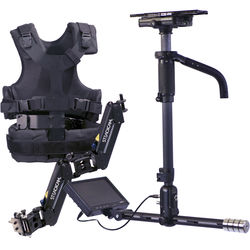 """Steadicam Aero Stabilizer with A-15 Arm/Vest and 7"""" Monitor (No Battery Mount)"""