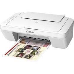 Canon PIXMA MG3020 Wireless All-in-One Inkjet Printer (White)