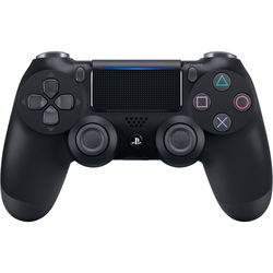 Sony DualShock 4 Wireless Controller (2016 Version, Jet Black)
