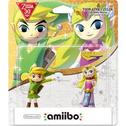Nintendo Toon Link and Toon Zelda amiibo Figures (The Legend of Zelda Series)