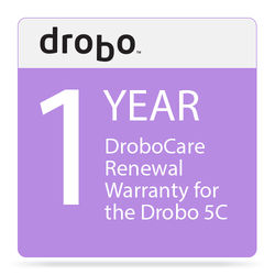 Drobo 1-Year DroboCare Renewal Warranty for the Drobo 5C