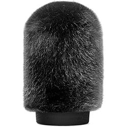 Bubblebee Industries Windkiller Short Fur Slip-On Wind Protector for 18 to 24mm Mics (Small, Black)
