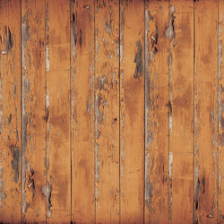 Westcott Distressed Wood Matte Vinyl Backdrop with Hook-and-Loop Attachment (3.5 x 3.5', Rich Brown)