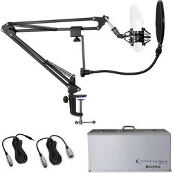 Technical Pro MCXPKG Pro Accessory Microphone Starter Pack (No Mic)