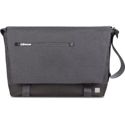 "Moshi Aerio Messenger Bag for 15"" Laptop or Tablet (Herringbone Gray)"