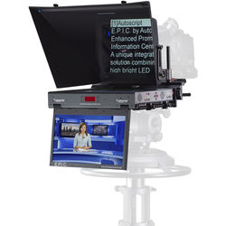 "Autoscript EPIC 17"" Dual Monitor Teleprompter Package"